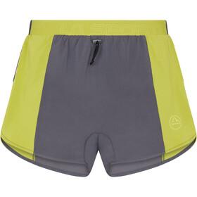La Sportiva Auster Shorts Men carbon/kiwi